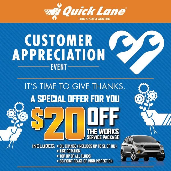 Customer Appreciation Event at Cam Clark Ford Olds